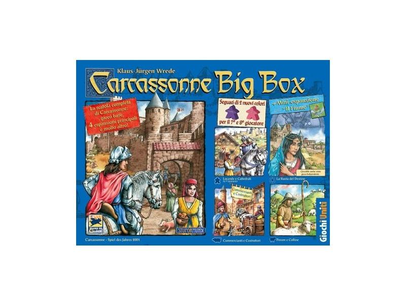 Carcassonne big box Edizione 2017  Giochi uniti