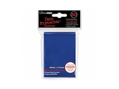 Ultra Pro Deck Protectors Standard Size Blue 50